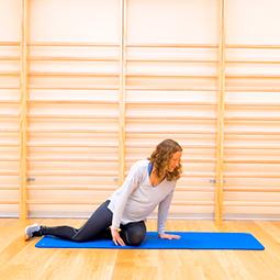 Cómo ir al suelo y levantarse para cambiar de ejercicio